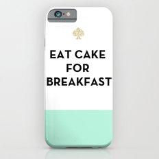 Eat Cake for Breakfast - Kate Spade Inspired iPhone 6 Slim Case