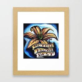 its true  Framed Art Print