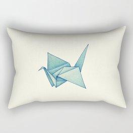 High Hopes | Origami Crane Rectangular Pillow