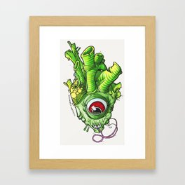 Heart of the Bog Witch Framed Art Print
