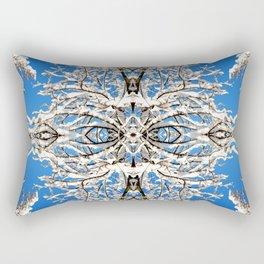 Winter Sky Rectangular Pillow