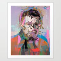 tchmo Art Prints featuring Untitled 20150527u by tchmo