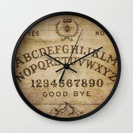 Ouija Board (Rustic Version) Wall Clock