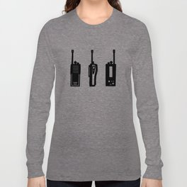 P.D.O.C. Walkie Talkie 3D comic version Long Sleeve T-shirt