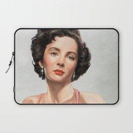 Elizabeth Taylor Tribute comic book cover Laptop Sleeve