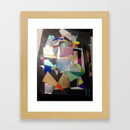Lost in The States of Mind Framed Art Print