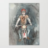 moto Canvas Prints featuring Moto by Bluedogrose