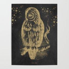 The golden owl Poster
