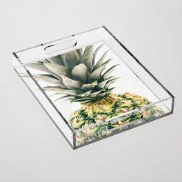 Pineapple Close-Up Acrylic Tray