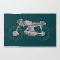 honda Canvas Prints featuring little honda by rsza