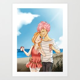 Date Art Print