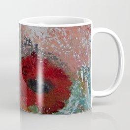 poppy abstract Coffee Mug