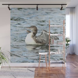 Baby loon all grown up Wall Mural