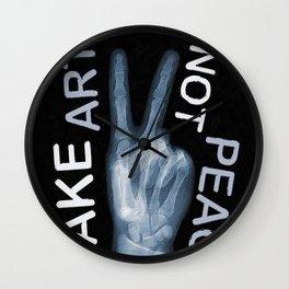 Rise Peace Wall Clock