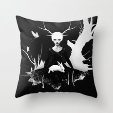 Space Within Throw Pillow