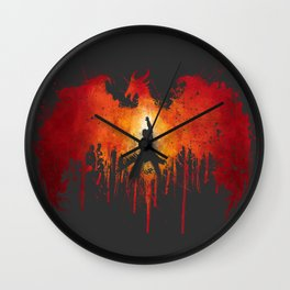 Fight the Archdemon Wall Clock