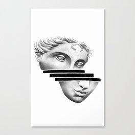 Greek Head Canvas Print