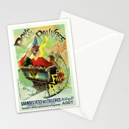 Festival for the poor of France and Russia 1892 Stationery Cards