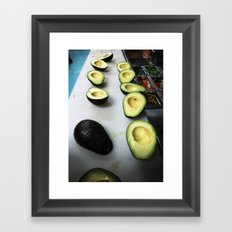 Avocados Framed Art Print