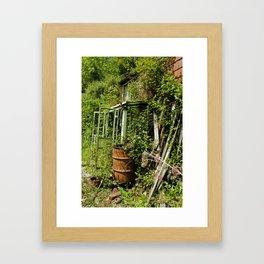 Find the Front door. Framed Art Print