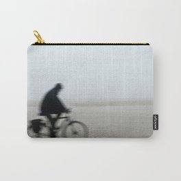 Bike in Mist Carry-All Pouch