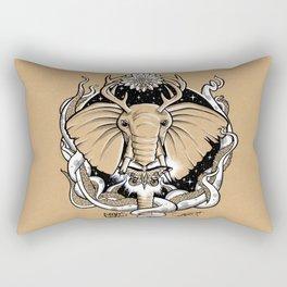 One Tusk Rectangular Pillow
