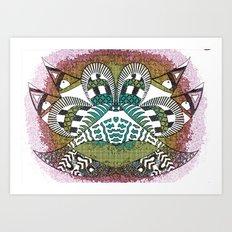 Ubiquitous Bird Collection2 Art Print