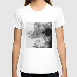 males mandelbrot abstract T-shirt