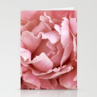 peony Stationery Cards featuring Peony by Cindi Ressler Photography