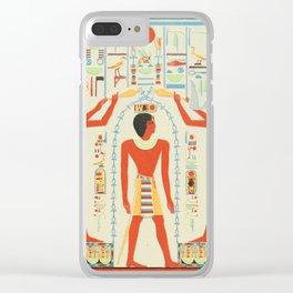 Temple D'Amada 1926, Antichambre section de droite Clear iPhone Case