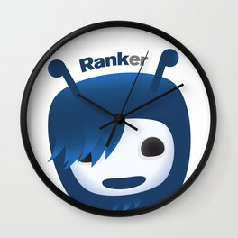 Up Vote Ranky Wall Clock