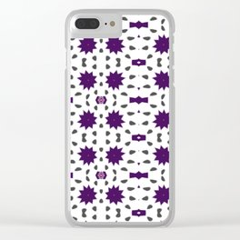Pattern 46 Clear iPhone Case