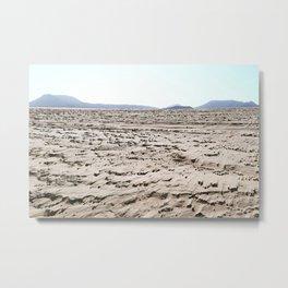 Desert wind Metal Print