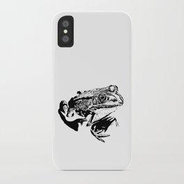 black frog IV iPhone Case