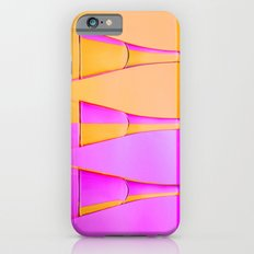 Three Coloured / Colored Wine Glasses  iPhone 6s Slim Case
