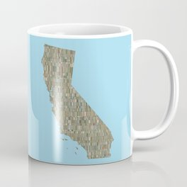 California Collage Coffee Mug
