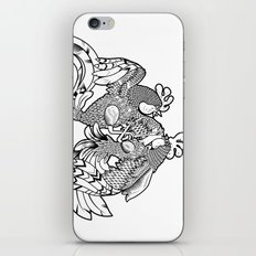 Rooster BW iPhone Skin