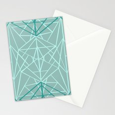 Geometric Sketches 3 Stationery Cards