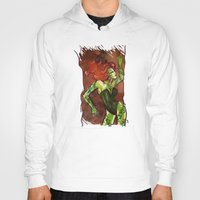 poison ivy Hoodies featuring Poison Ivy  by Sako Tumi