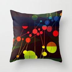 Planetary System I Throw Pillow