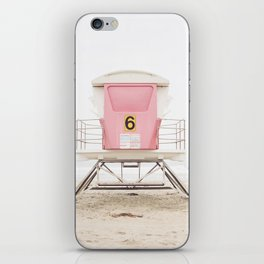 Pink Tower 6 iPhone Skin