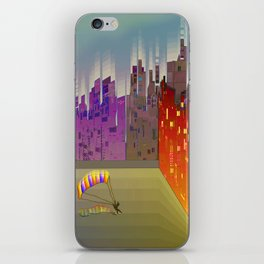 Landing in The Main Square iPhone Skin