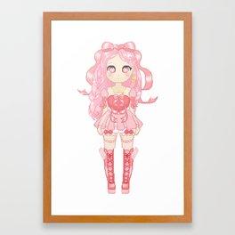 Magical Girl Framed Art Print