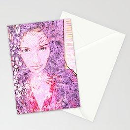 Lavender Beauty Stationery Cards