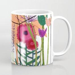 Garden Flowers Greenhouse Coffee Mug