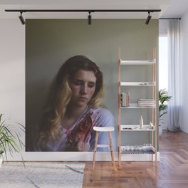 Dont Speak Bullets, Without Considering The Exit Wound. Wall Mural