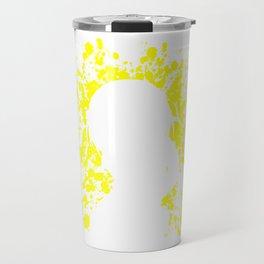 Anime Haurhi Paint Splatter Inspired Shirt Travel Mug
