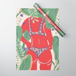The Art Of Bikini Wrapping Paper