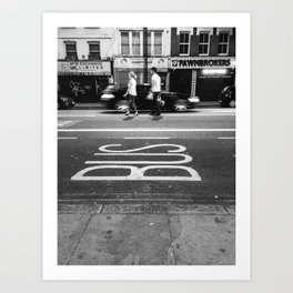 Shoreditch Art Print