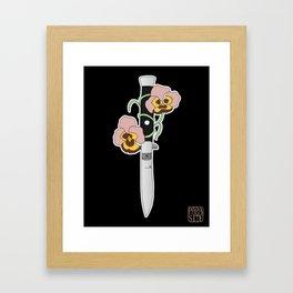 SwitchPansy Framed Art Print